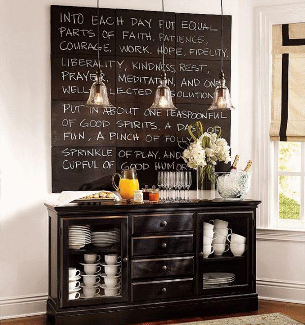 chalkboard  decor ideas