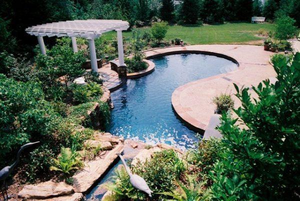 garden pool designs ideas