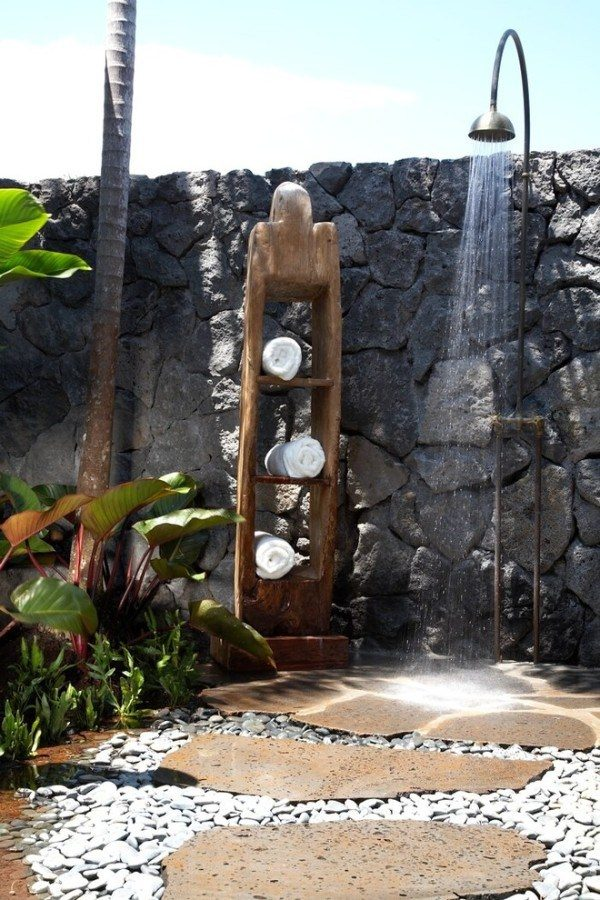 outdoor shower design ideas
