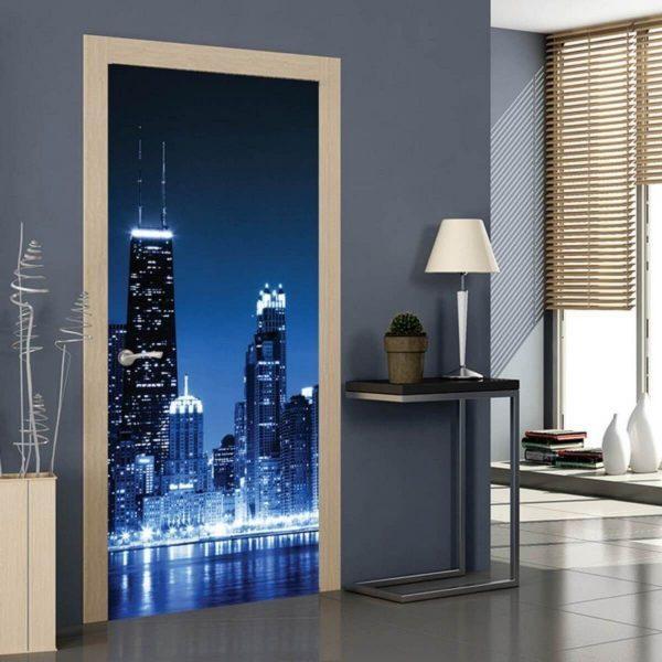 Decorative interior doors
