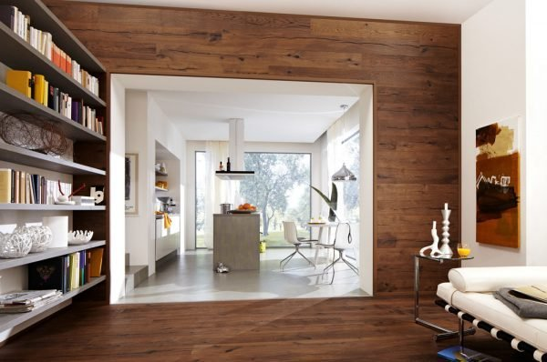 Comlaminate Flooring Walls : Laminate flooring on walls for a warm and luxurious feel of the ...