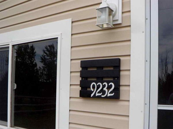 cool house number ideas