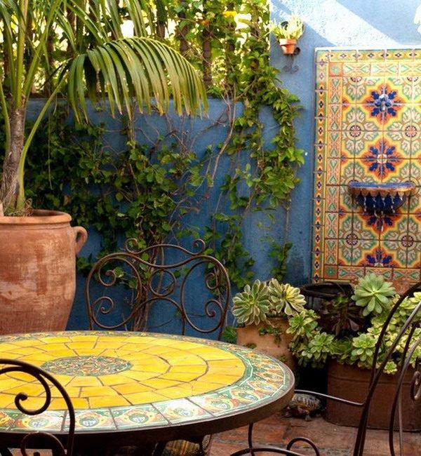 garden wall mosaics
