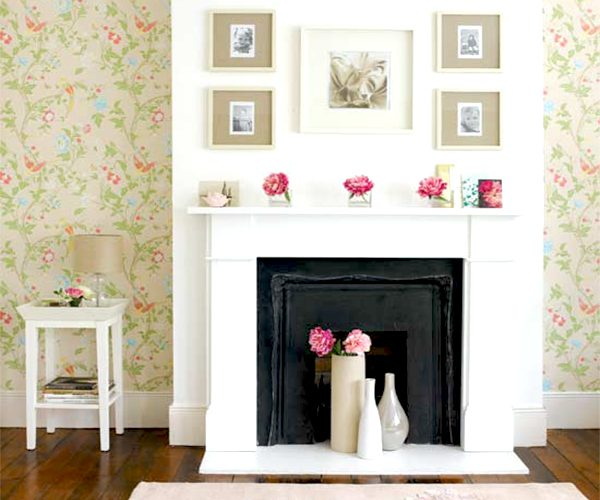 ideas for a non-working fireplace