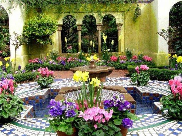 garden mosaic ideas