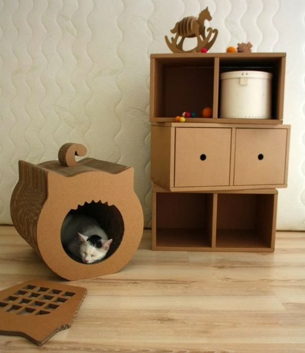 Diy Cat House Box