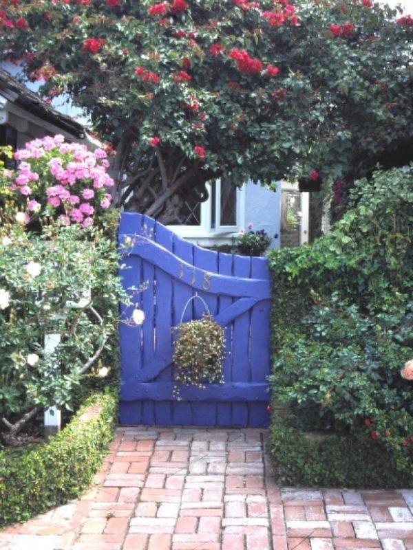 wooden garden doors