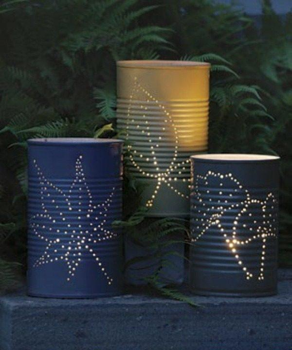 tin can candles