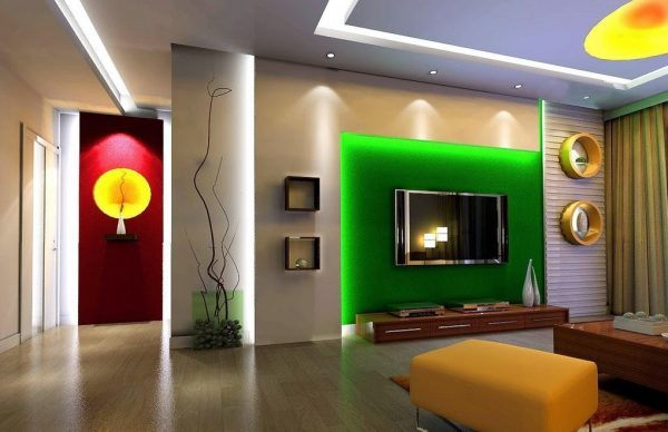 TV wall designs
