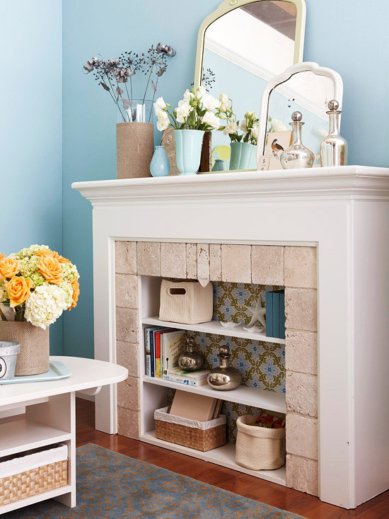 cool fireplace ideas