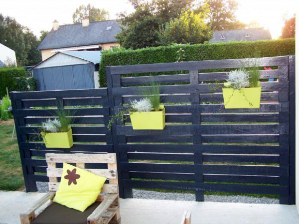 pallet designs for gardens