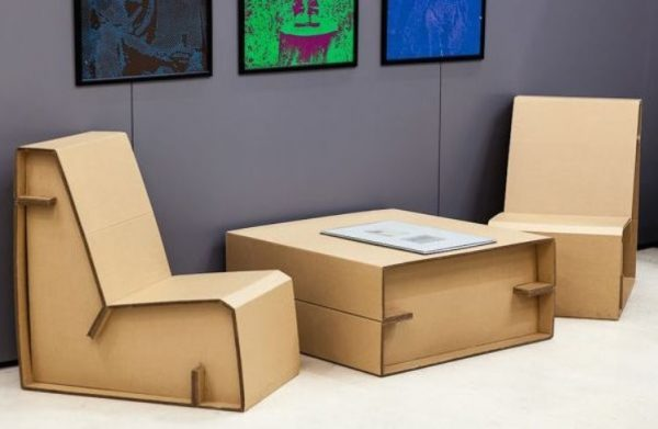 cardboard furniture design