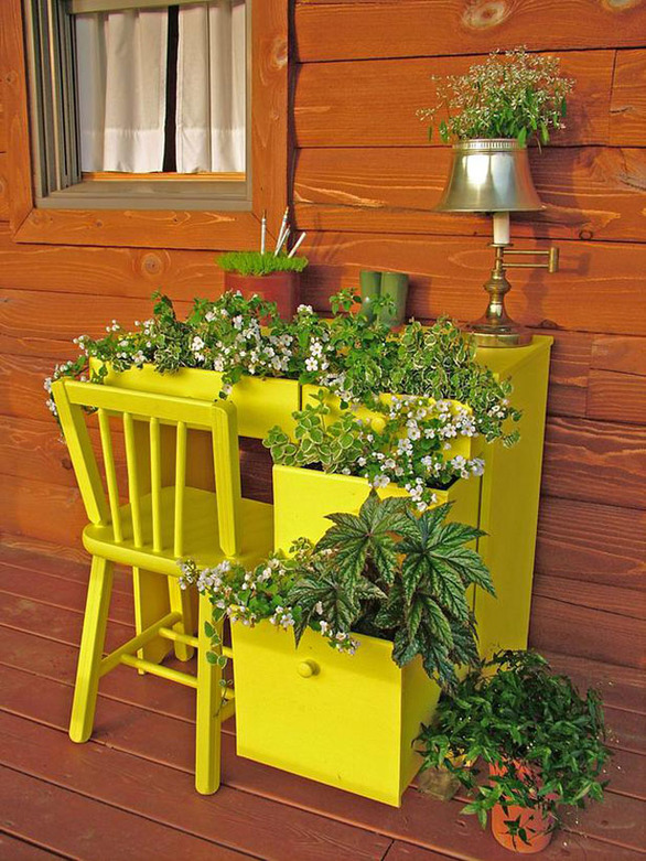 recycling old furniture