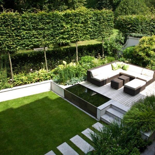 Modern garden design little piece of me for Plants for contemporary garden design