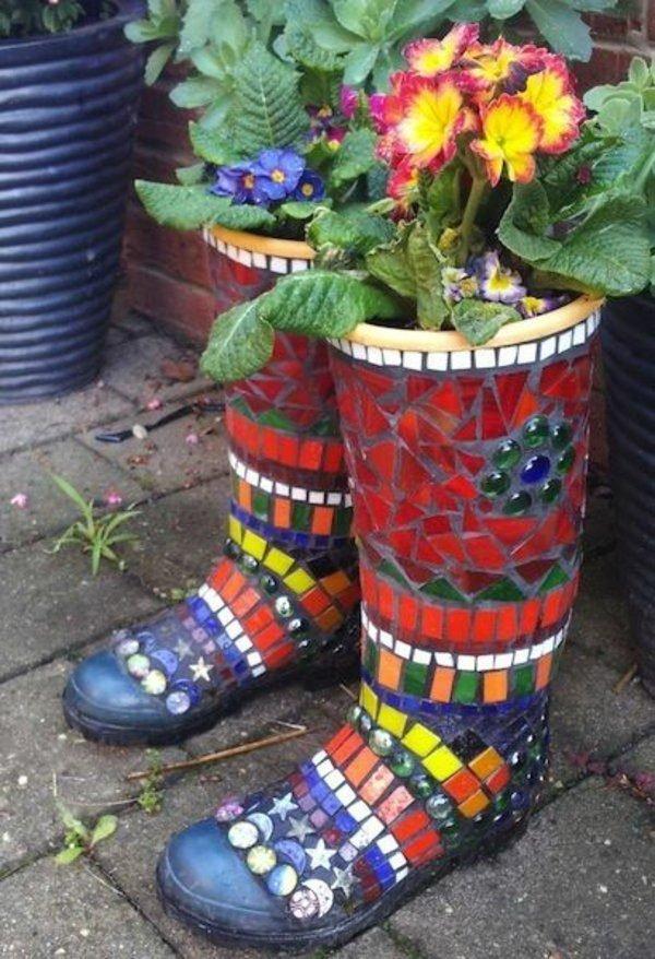 mosaic pots designs