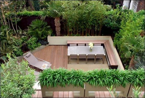small modern garden design