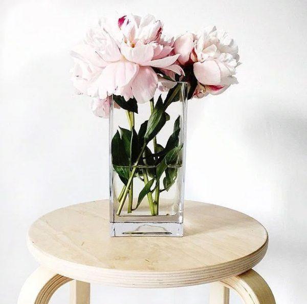 flower arrangements in vases