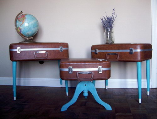suitcase furniture