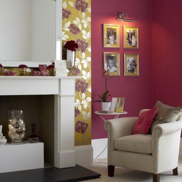 decorating fireplace
