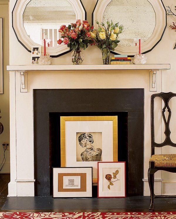 unused fireplace ideas littlepieceofme