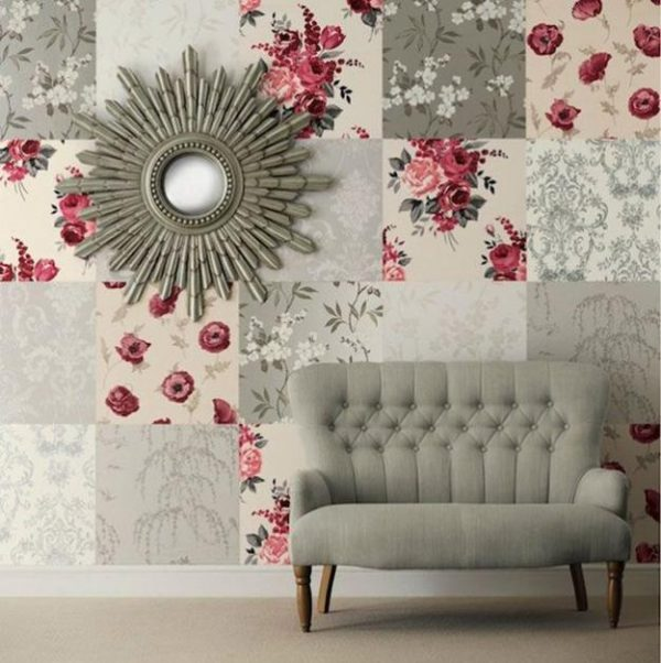 Create A Patchwork Feature Wall: Patchwork Wall Decor: 20 Incredible Accent Wall Design