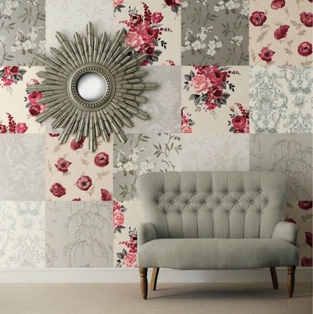 patchwork wall decor