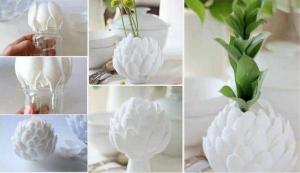 small flower vases