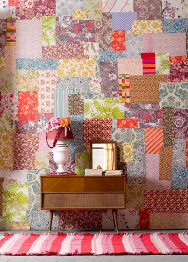 Patchwork wall decor: 20 incredible accent wall design ideas