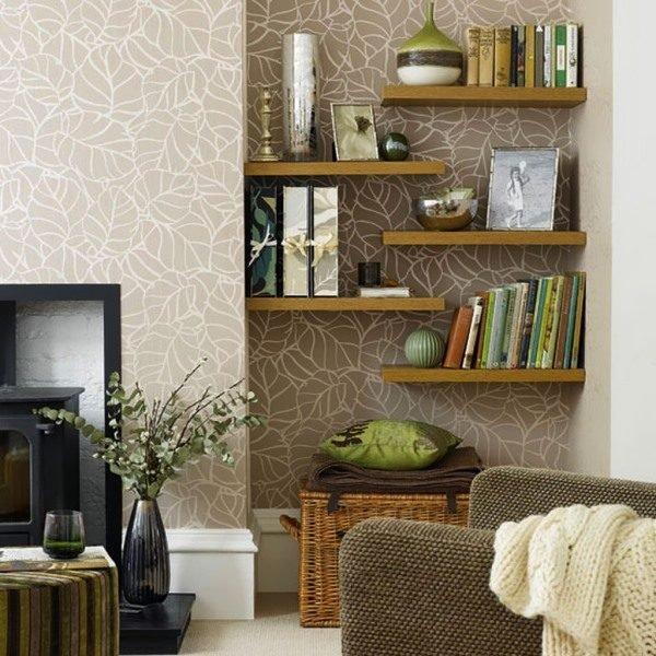 living room storage shelves