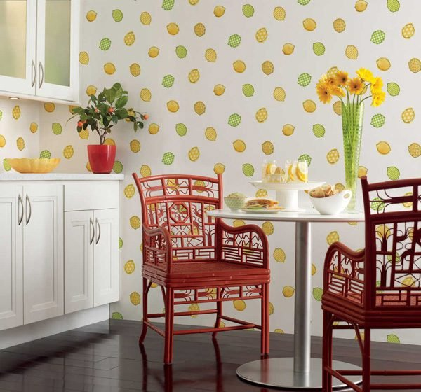 kitchen wallpaper ideas 18 wallpaper designs for kitchen