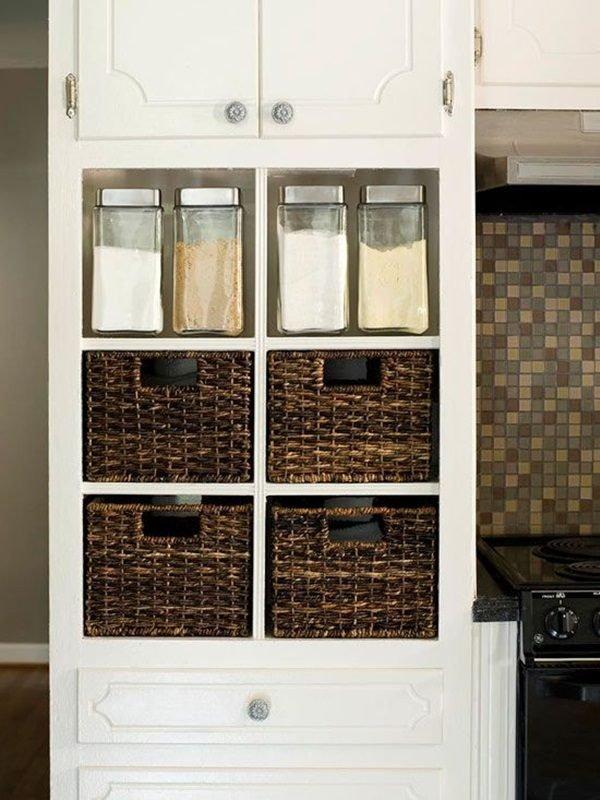 storage ideas for small kitchen