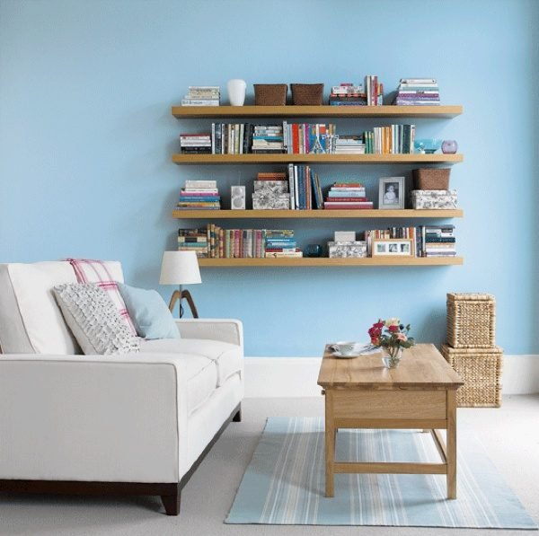 living room shelving ideas