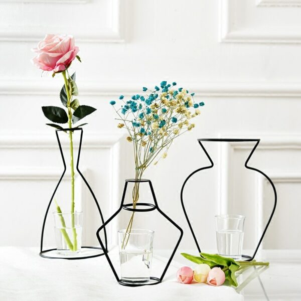 interesting flower vases