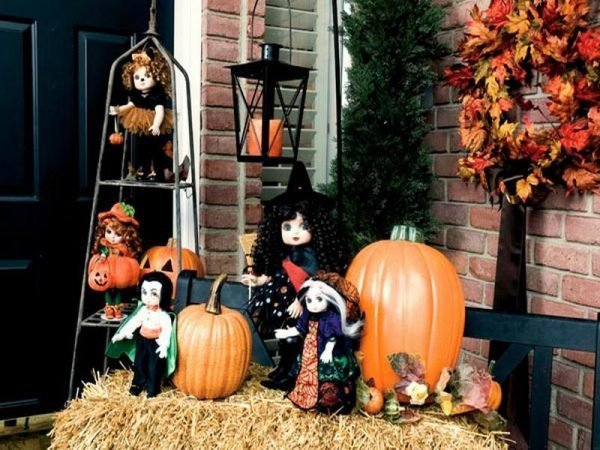 halloween outside decoration ideas