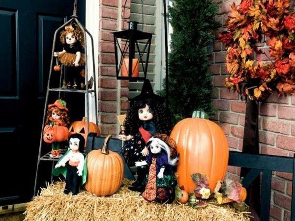 halloween outside decoration ideas