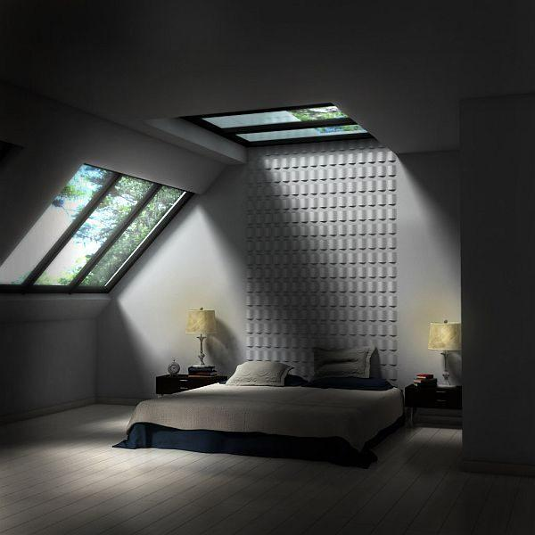 how to decorate an attic bedroom