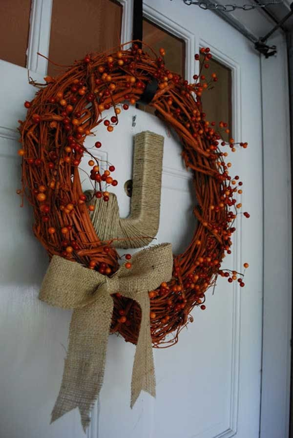 25 Gorgeous Diy Fall Door Wreaths Little Piece Of Me