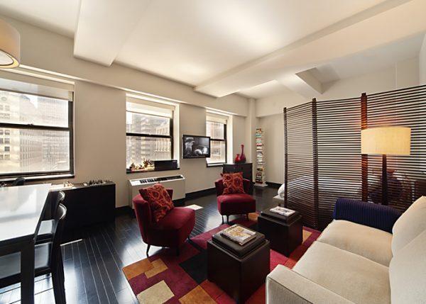 bedroom living room divider
