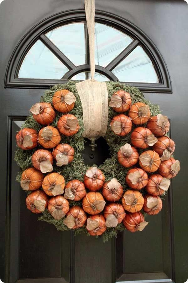 autumn wreath ideas