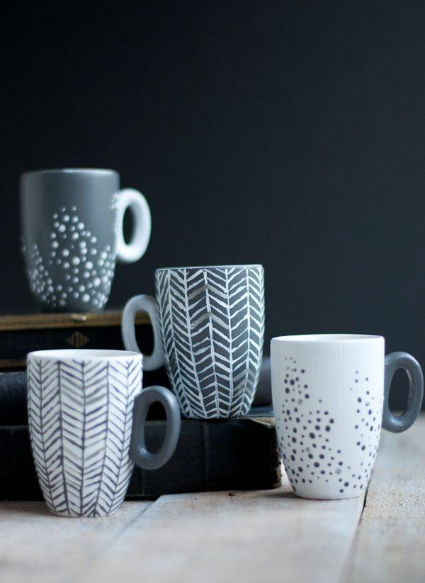 Creative Diy Painted Mugs Ideas Little Piece Of Me - Diy creative painted mug