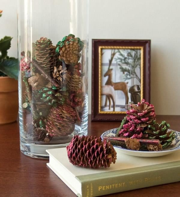Pine cone decorating ideas