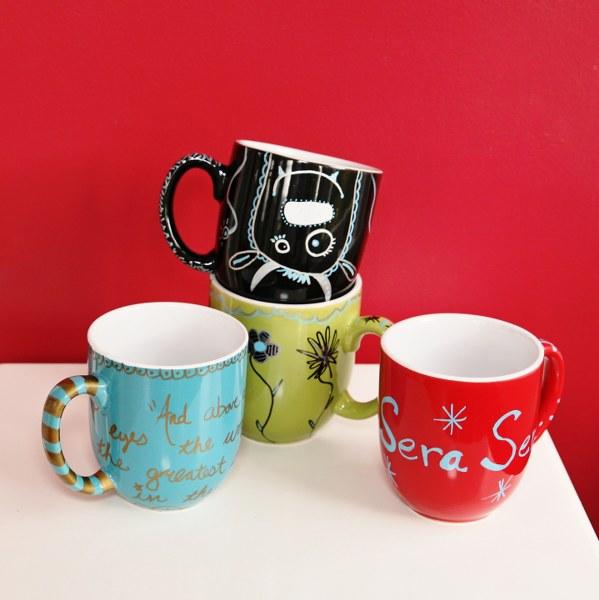 painting mug ideas