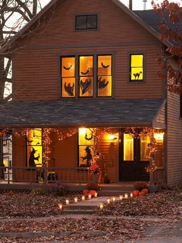 halloween house decorations