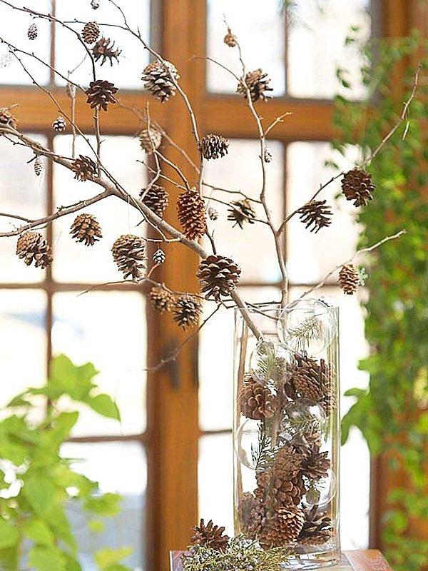 pine cone decor ideas