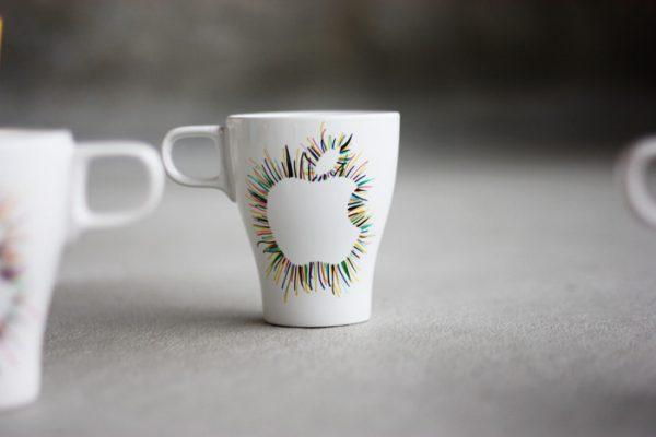 painted coffee mugs