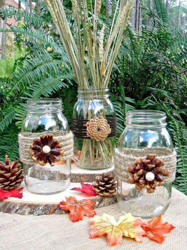 pine cone diy