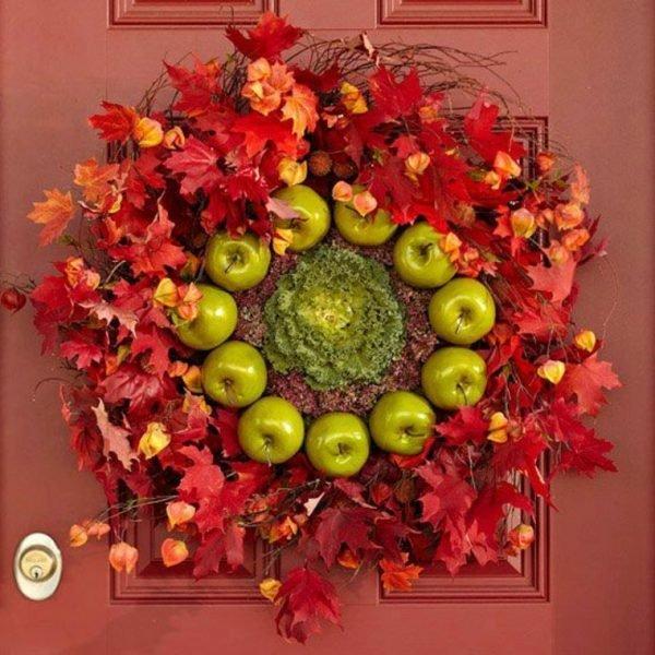 diy fall door wreaths
