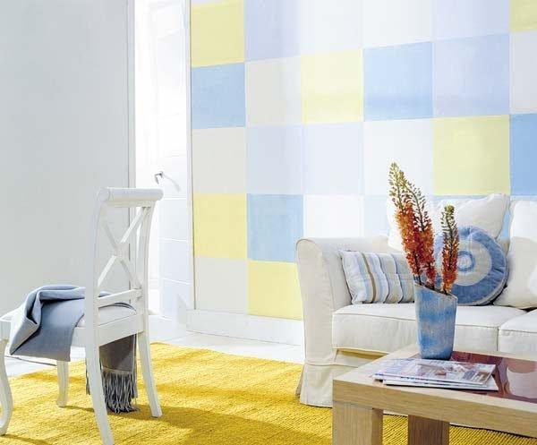 geometric room decor