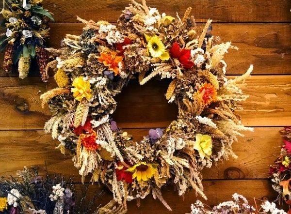 door wreaths for fall