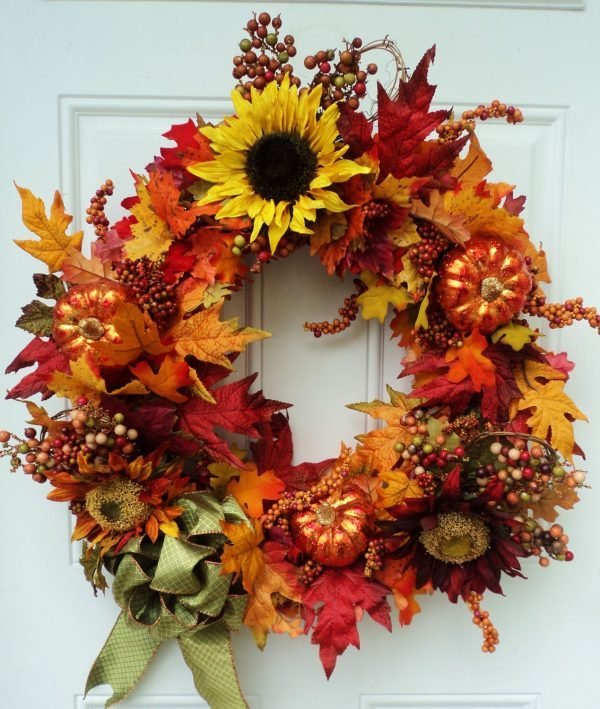 decorative door wreaths